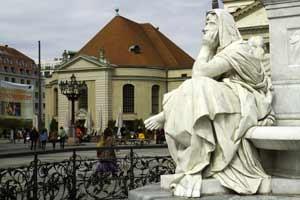 Statue in a Berlin square