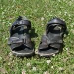 Derek Niemann's summer sandals