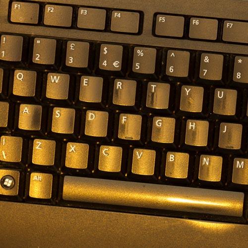 golden keyboard 500