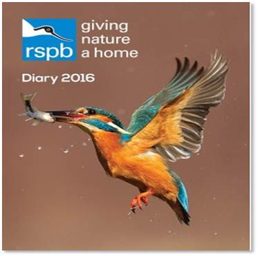 RSPB 2016 diary